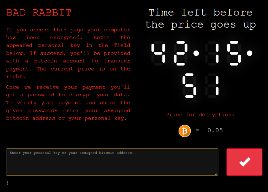 BadRabbit Screenshot
